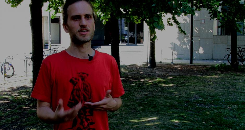 Yannick erklärt den TVStud Streik