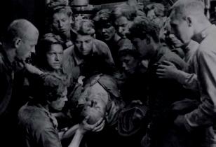 Streikender Arbeiter erschossen Eisenstein Streik